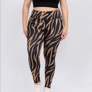 Pants - New Tiger Print Leggings